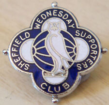 Sheffield wednesday vintage supporters club badge maker T.N prêtre broche pin