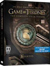 Game of Thrones Season 6 - Limited Edition Steelbook (Blu-ray) PRE-ORDER!! NEW!!