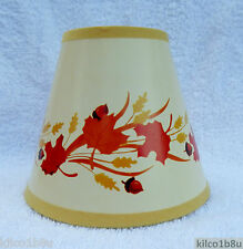 Fall Leaves Mini Paper Chandelier Lamp Shade Browns, Traditional, C-Kays