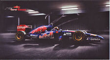 Jean-Eric Vergne Signed Official 4X8 Inches 2014 Toro Rosso F1 Photo Card