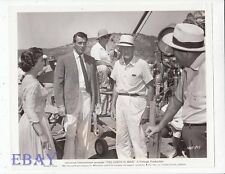 Rock Hudson Jean Simmons Director Henry King VINTAGE Photo The Earth Is Mine