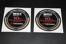 Yokohama Reifen Tires Pneu Aufkleber Sticker Decal Kleber Logo Schriftzug WTTC