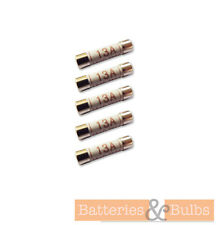 13A Amp Electric Plug Mains Fuse Fuses x5