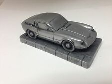 Saab Sonnet 2 Two Stroke 1.43 Scale Pewter Effect Model Car Made In Sheffield