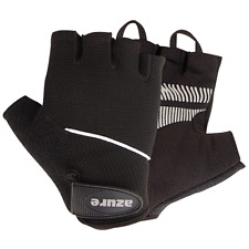 Cycling Gloves BMX Bicycle Mountain Bike Sports Cycle Glove Half Finger Black S
