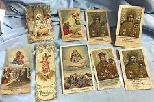 Antique HOLY CARDS Remembrance, Memento, Etc