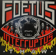 """FOETUS - INTERRUPTUS - THAW  12""""  LP (M647)"""