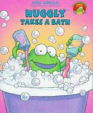 Huggly Takes A Bath (The Monster Under the Bed)-ExLibrary