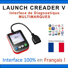 LAUNCH CREADER V - Valise Diagnostique MULTIMARQUES en Français - VAG COM - OBD2