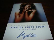 KYLIE MINOGUE LOVE AT 1RST SIGHT!!RARE FRENCH PRESS/KIT