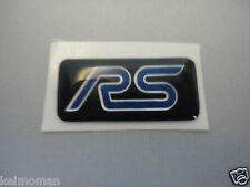Genuine Ford Focus RS Alloy Wheel RS Sticker Badge 2009-2011 *Ford Main Dealer*