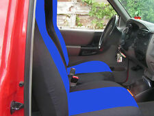 cc FORD RANGER CAR SEAT COVERS  60-40 seat with highback backrest + Console cove