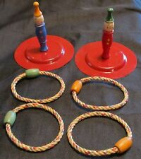 Vintage Antique J Pressman Ring Toss Hand Painted? No Box