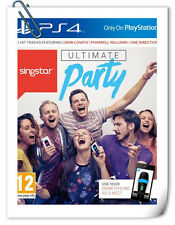 PS4 SingStar: Ultimate Party SONY PlayStation Music Games SCE