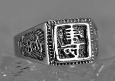 LOOK Sterling Silver ring chinese Fengshui Blessing Health