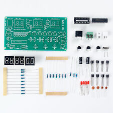 DIY Kit Module AT89C2051 6 Digital LED Electronic Clock Parts Components FO