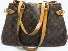 Louis Vuitton Batignolles Horizontal Tasche Bag Monogram PATINA Schultertasche 1
