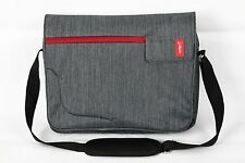 Bipra 15.6 inch Laptop Bag Backpack Suitable for 15.6 Inch Laptops (Grey&Red)