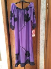 Vintage VISIONS Apparel 100% Polyester Made in USA New with Tags Womens Medium