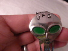 "Mens Vintage Novelty UFO Alien CTC AMERICA ""COLLECTORS EDITION"" WRISTWATCH"