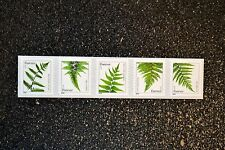 2015USA #4973-4977 (SSP)  Forever Ferns Coil Strip of 5 Mint reprint (2014 date)