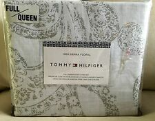 NIP TOMMY HILFIGER HIGH SIERRA FLORAL FULL / QUEEN DUVET COVER SET W SHAMS