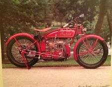 Vintage Early Indian Motorcycle Rare Car Poster! WOW!