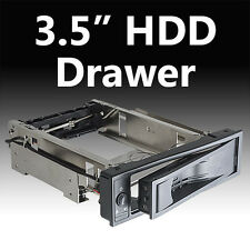"""Removable Rack Tray for Hard Disk SATA 3.5"""" with off / on Button"""