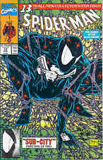 Spiderman # 13 (Todd McFarlane, black costume returns) (USA, 1991)