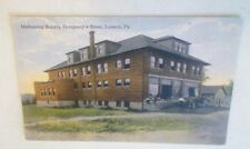 Old Indiana/ Lucerne PA. Coal Mine Mahoning Supply Company Store Postcard Repo