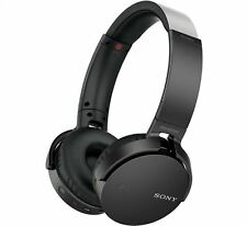 Sony MDRXB650BTB Extra Bass Cordless Bluetooth Over Ear Headphones In Black NEW