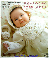 Sweet Knit for Baby /Japanese Crochet-Knitting Baby's Wear Pattern Book
