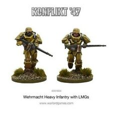 Warlord Games: Konflikt '47 German Heavy Infantry with LMG's