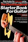 Chord Songbook Starter Book For Guitar Learn to Play Beginner Music Book