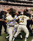MATT ALEXANDER  PITTSBURGH PIRATES  79 WS CHAMPS    ACTION SIGNED 8x10
