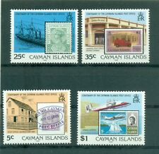 STAMP ON STAMP - CAYMAN ISLANDS 1989 100 Yrs Cayman Post Office