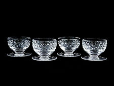 Waterford Crystal Maeve Tramore Grapefruit Dessert Cups Shrimp Bowls Underplate