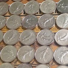 (1) 1960 - 1964 Silver France French 5 Franc dollar - Sower of Seeds