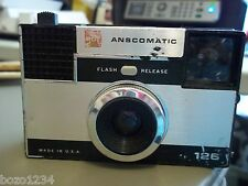 VINTAGE GAF ANSCOMATIC 126 FILM CAMERA