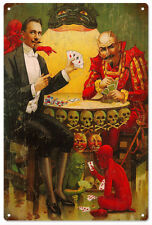 Little Devil Poker Circus Sign