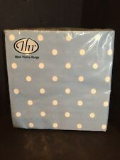 Ideal Home Range Cath Kidston Lunch Napkins Blue White Dots New