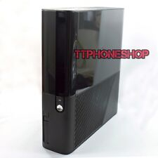 New Black Full Housing Faceplate Shell Case For Xbox 360 E Slim - UK