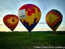 Hot Air Balloons, Indianola, Iowa - Giclee Photo Print