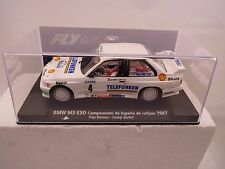 FLY CAR MODEL #88203 BMW M3 E30 CTO.ESPANA RALLTES 1987 1/32 SLOT CAR