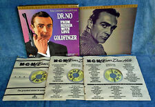 DR. NO, FROM RUSSIA WITH LOVE, GOLDFINGER - SEAN CONNERY- (3) LASER DISC BOX SET