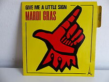 MARDI GRAS Give me a little sign SG 401