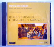 CLASSIC MUSIC COMPACT DISC, FRANZ SCHUBERT, CLASSIC MASTERS