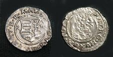 Nice About Uncirculated Hungary 1610-1619 One Denar