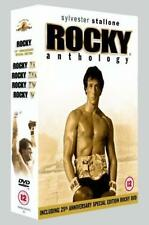 ROCKY Anthology DVD (5 Disc Box Set) - Region 2 & 510 mins viewing time*****