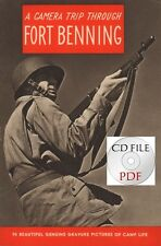 CD File  Fort Benning - A Camera Trip Through Fort Benning Paratroops PDF WW2